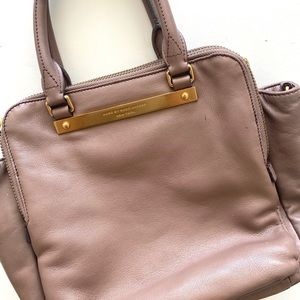 Marc by Marc Jacobs tan work purse